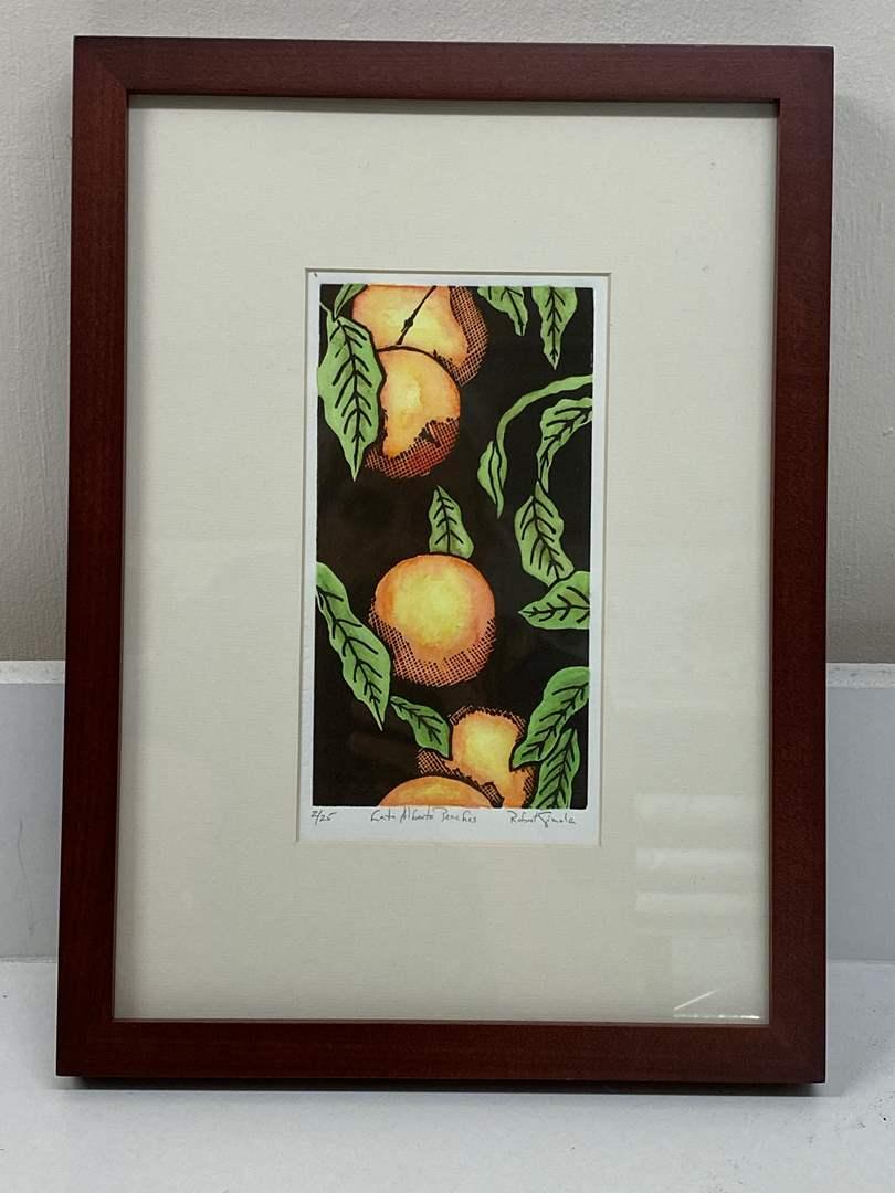 Lot # 164 - Etching Signed & Framed Artist Proof (main image)