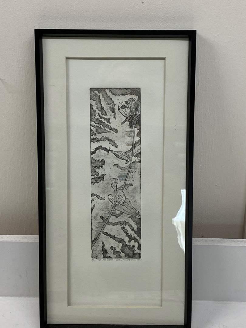 Lot # 165 - Etching Signed & Framed Artist Proof (main image)