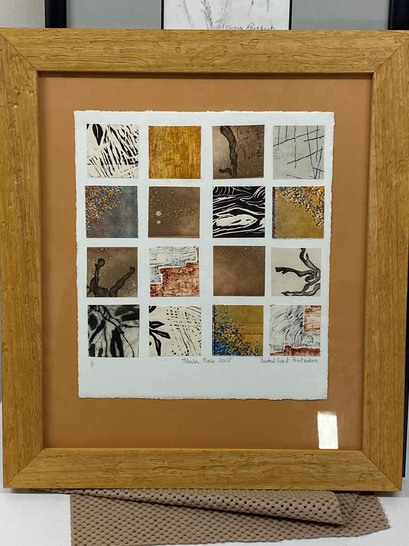 Lot # 173 - Etching Signed & Framed Artist Proof (main image)
