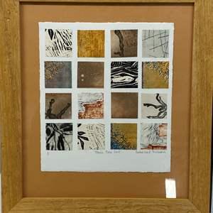 Lot # 173 - Etching Signed & Framed Artist Proof