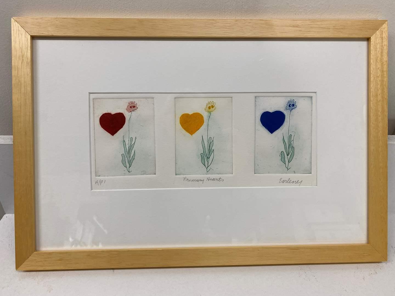 Lot # 179 - Etching Signed & Framed Artist Proof (main image)