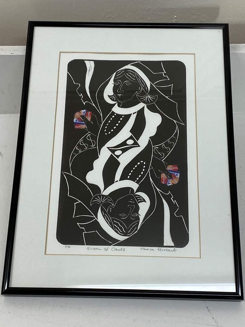 Lot # 185 - Etching Signed & Framed Artist Proof (main image)