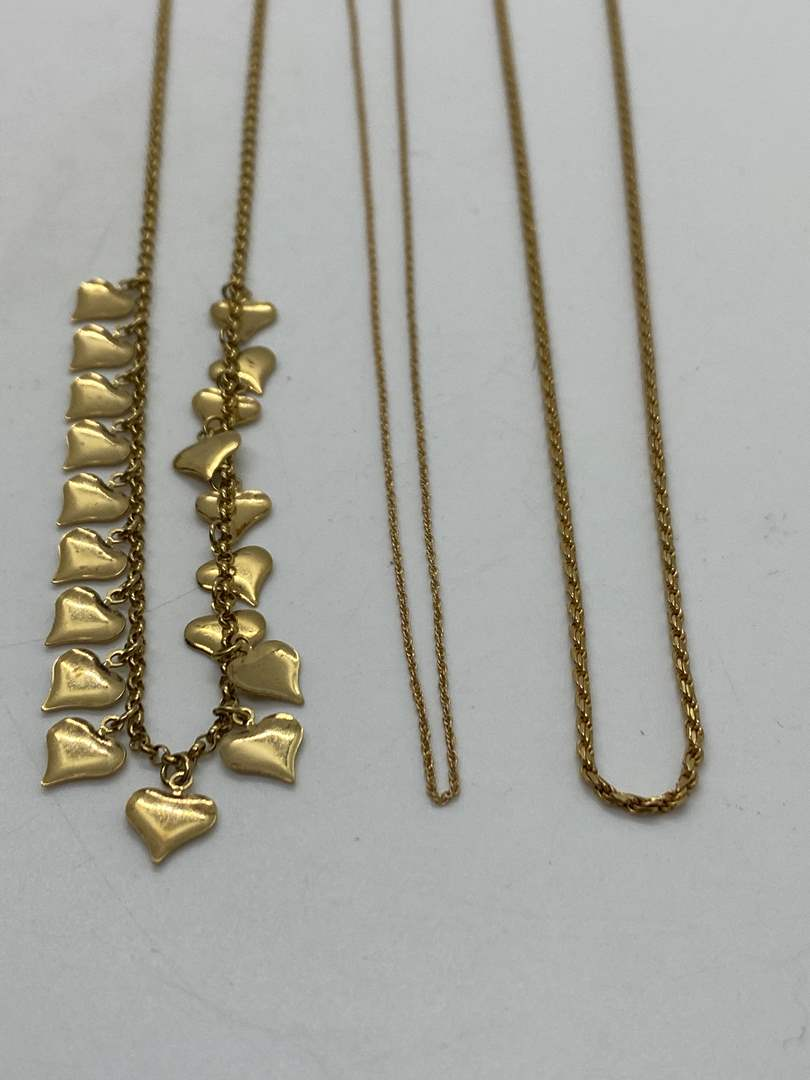 Lot # 196 - 14k Gold Hallmark Jewelry (16.8g) (main image)