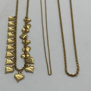Lot # 196 - 14k Gold Hallmark Jewelry (16.8g)