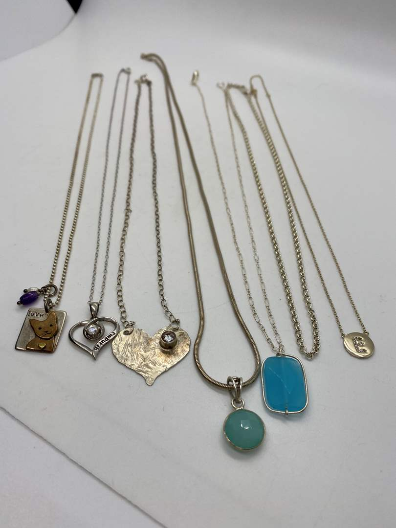 Lot # 201 - 925 Hallmarked Necklaces (33.0g) (main image)