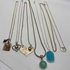 Lot # 201 - 925 Hallmarked Necklaces (33.0g)