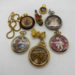 Lot # 218 - Pocket Watches Full of Bears
