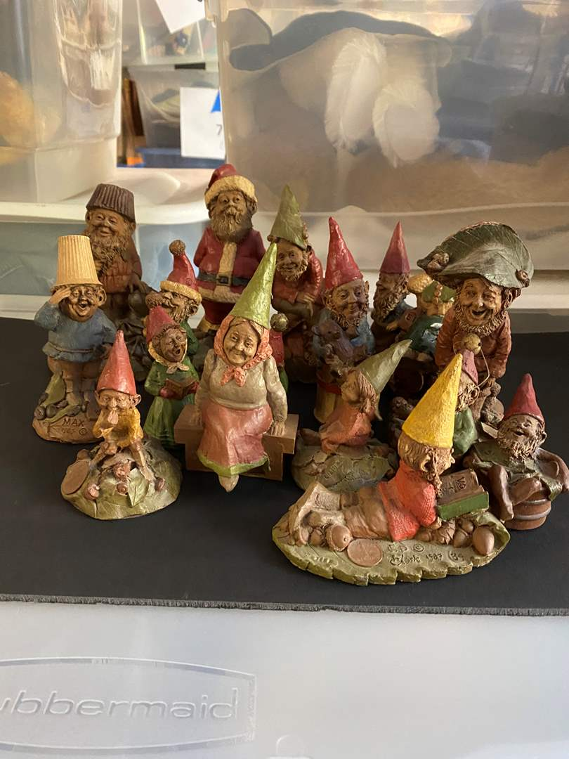 Lot # 224 - Tom Clark Vintage Gnomes - one is artist hand signed (main image)