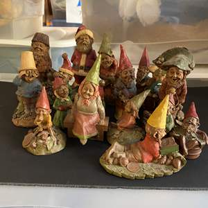 Lot # 224 - Tom Clark Vintage Gnomes - one is artist hand signed