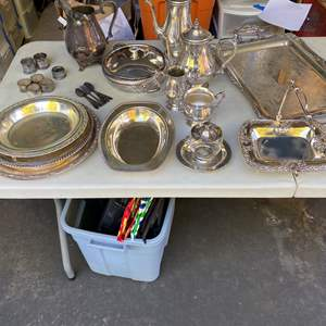 Lot # 254 - Silver Plate Goods