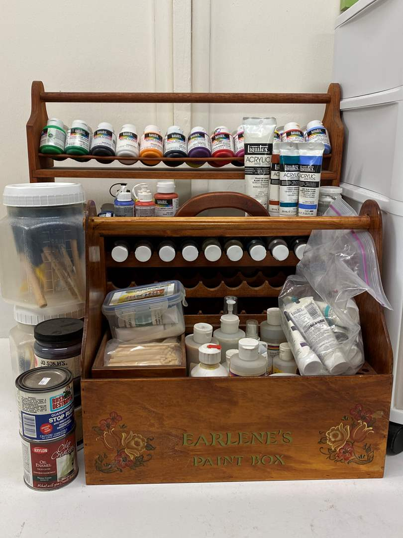Lot # 265 - Crafting and art paints (main image)