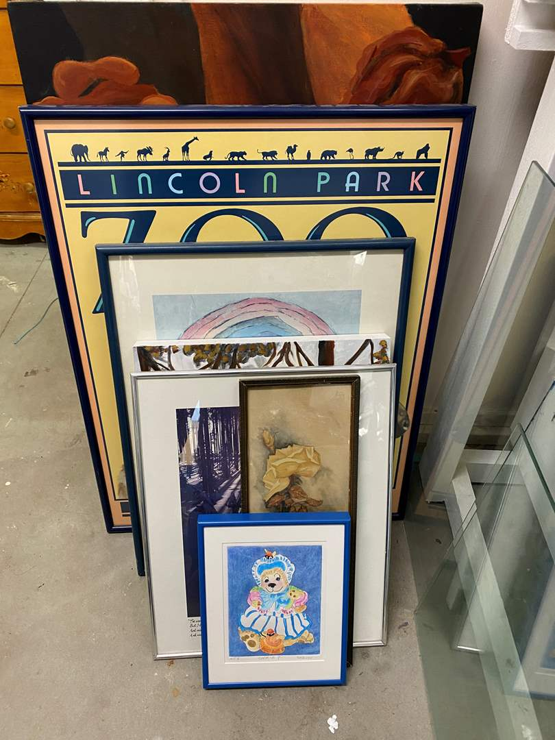 Lot # 269 - Framed art (main image)