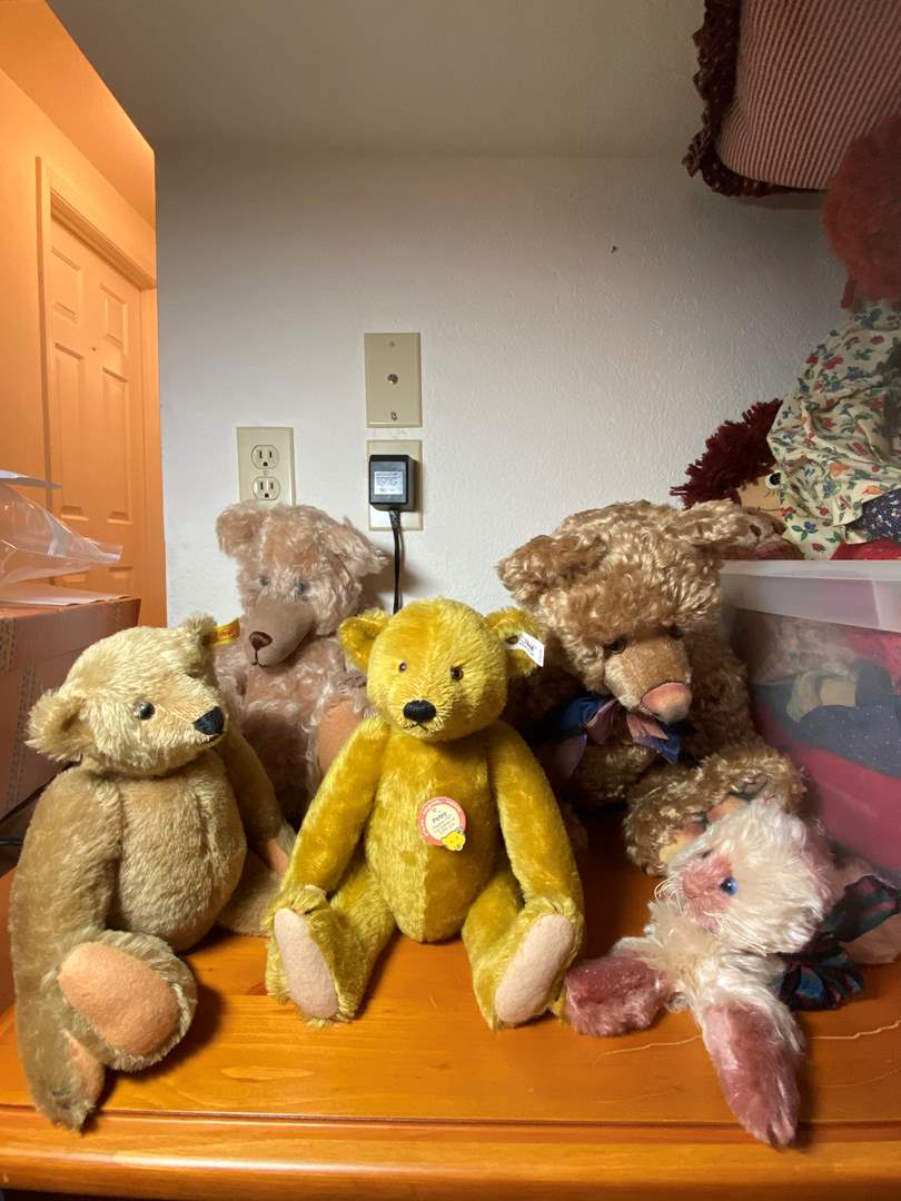 Lot # 284 - Steiff Bears and Friends  (main image)
