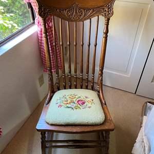 Lot # 307 - Antique Rocking Chair