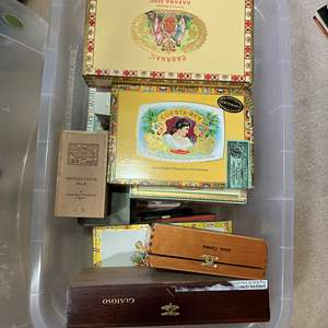 Lot # 309 - Cigar Boxes and others