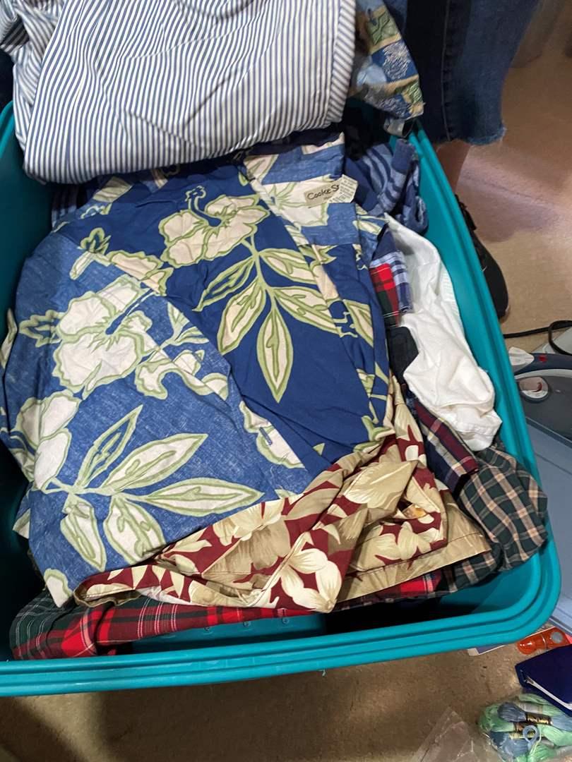 Lot # 312 - Hawaiian Shirts and others  (main image)