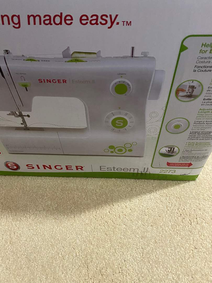 Lot # 315 - Singer Sewing Machine - New in box (main image)
