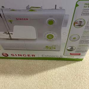 Lot # 315 - Singer Sewing Machine - New in box