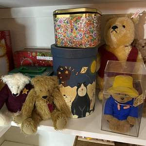 Lot # 318 - Paddington Bear and Friends and Tins