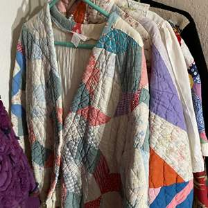 Lot # 342 - Jackets Made From Vintage Materials