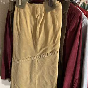 Lot # 343 - Leather/Suede Clothing