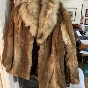 Lot # 352 - Fur Coat Size M