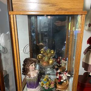 Lot # 357 - Display Case with Contents