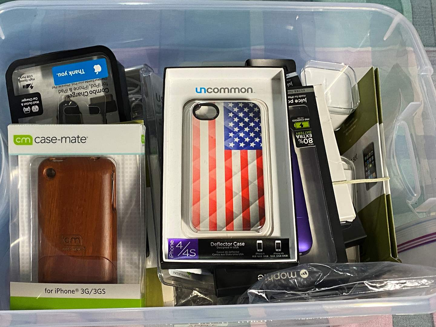 Lot # 360 - NEW in box - Phone Cases and Accessories  (main image)
