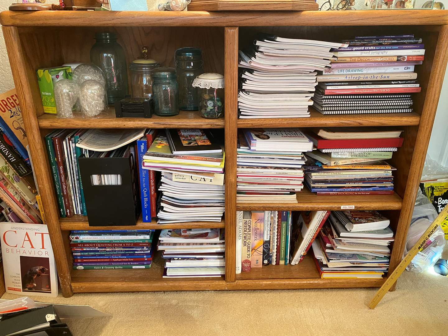 Lot # 365 - Bookcase With Contents (main image)