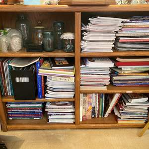 Lot # 365 - Bookcase With Contents