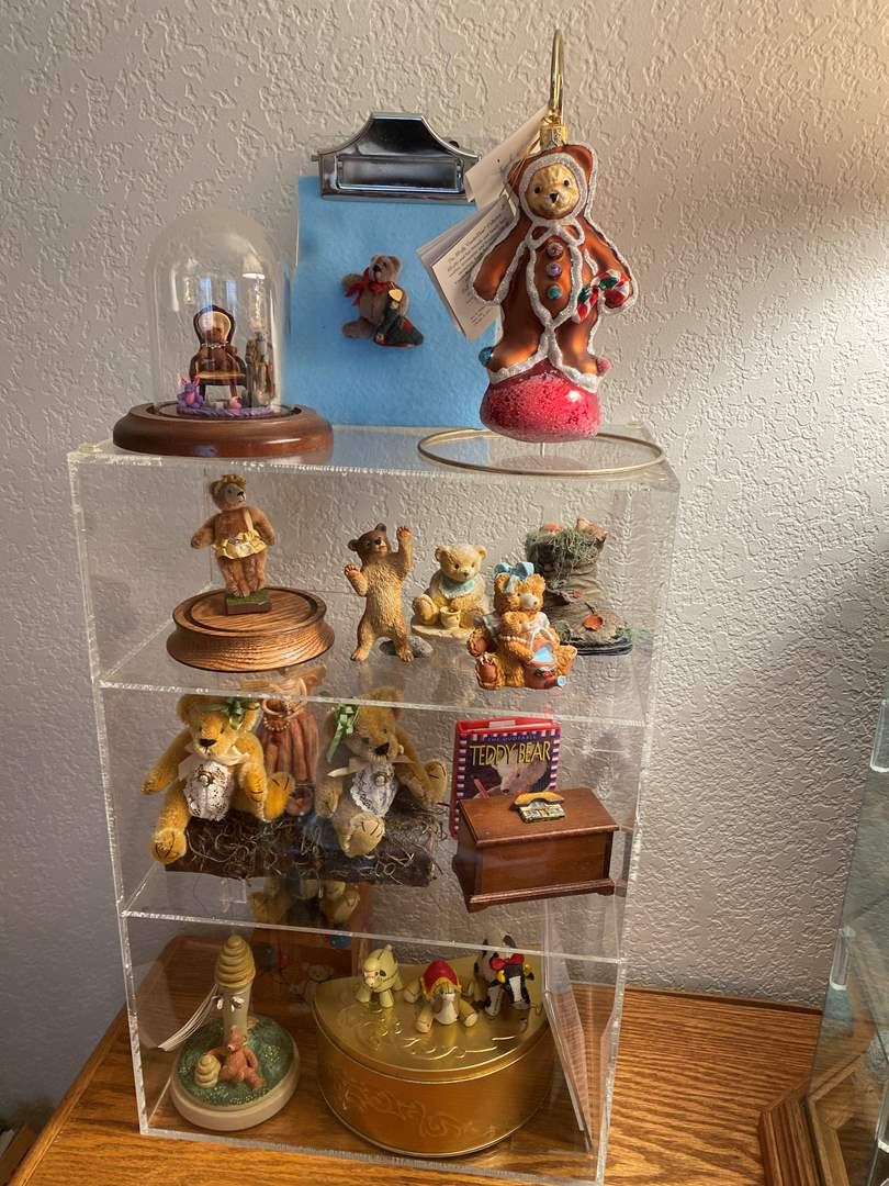 Lot # 367 - Display Case and all the Contents (main image)