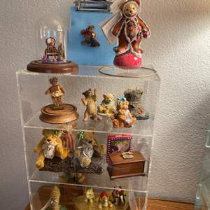 Lot # 367 - Display Case and all the Contents