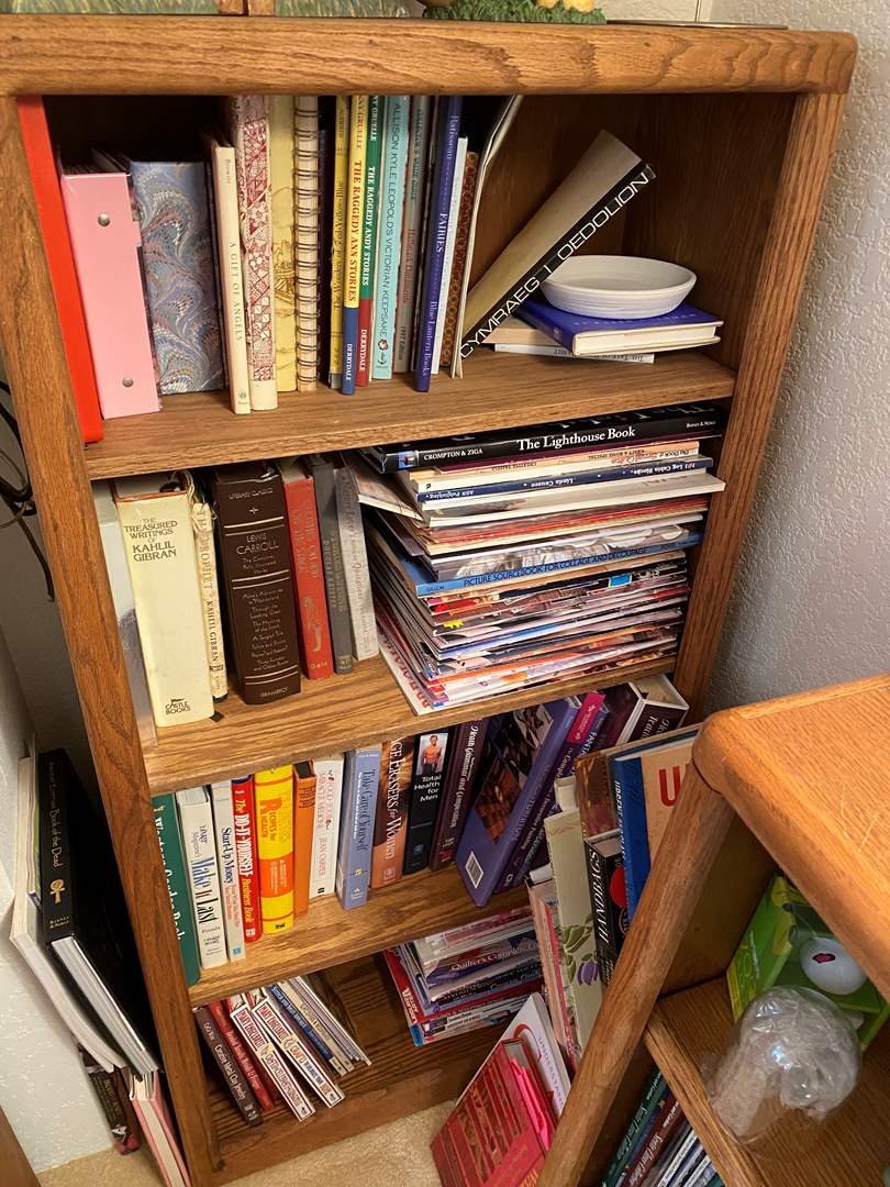 Lot # 369 - Book case With Contents (main image)