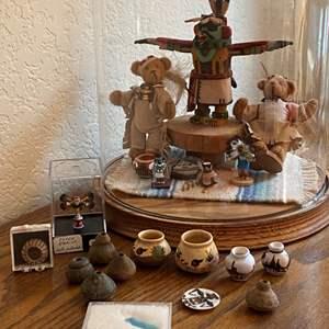 Lot # 371 - Indian Themed Miniatures
