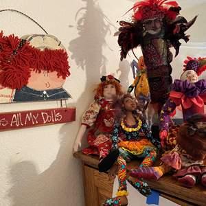 Lot # 374 - Dolls