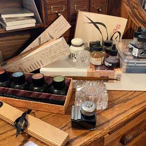 Lot # 377 - Calligraphy Tools and Accessories