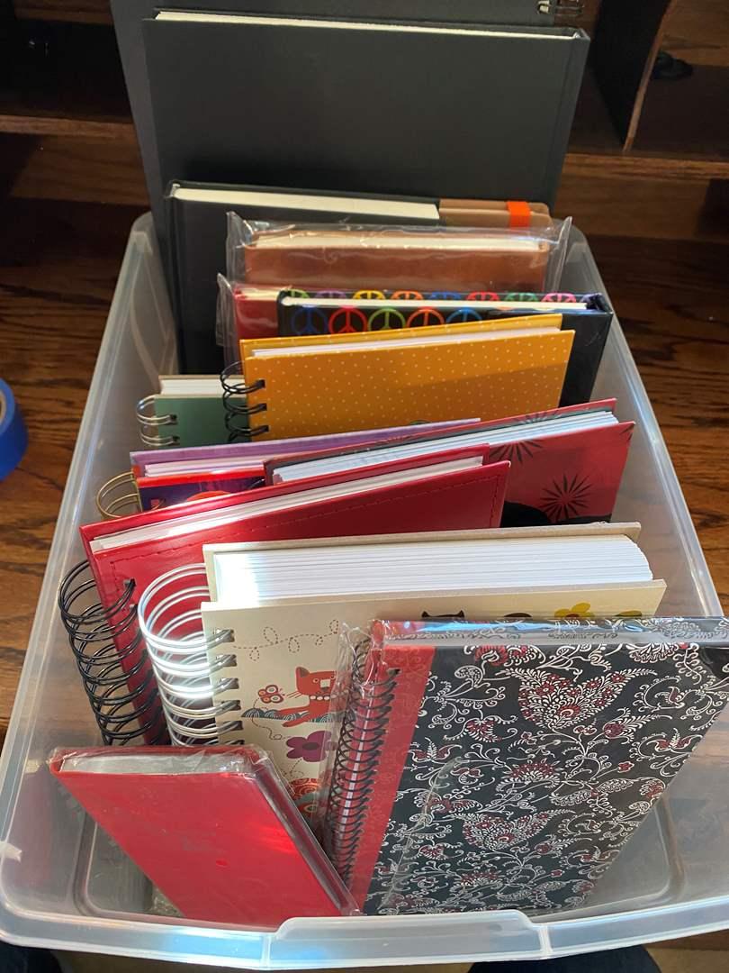 Lot # 380  - NEW Unused Journals (main image)