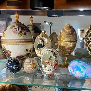Lot # 387 - Decorated Eggs