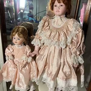 Lot # 389 - Vintage Dolls