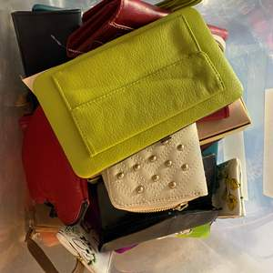 Lot # 457 - Tote Full of Wallets - Some NEW with Tags