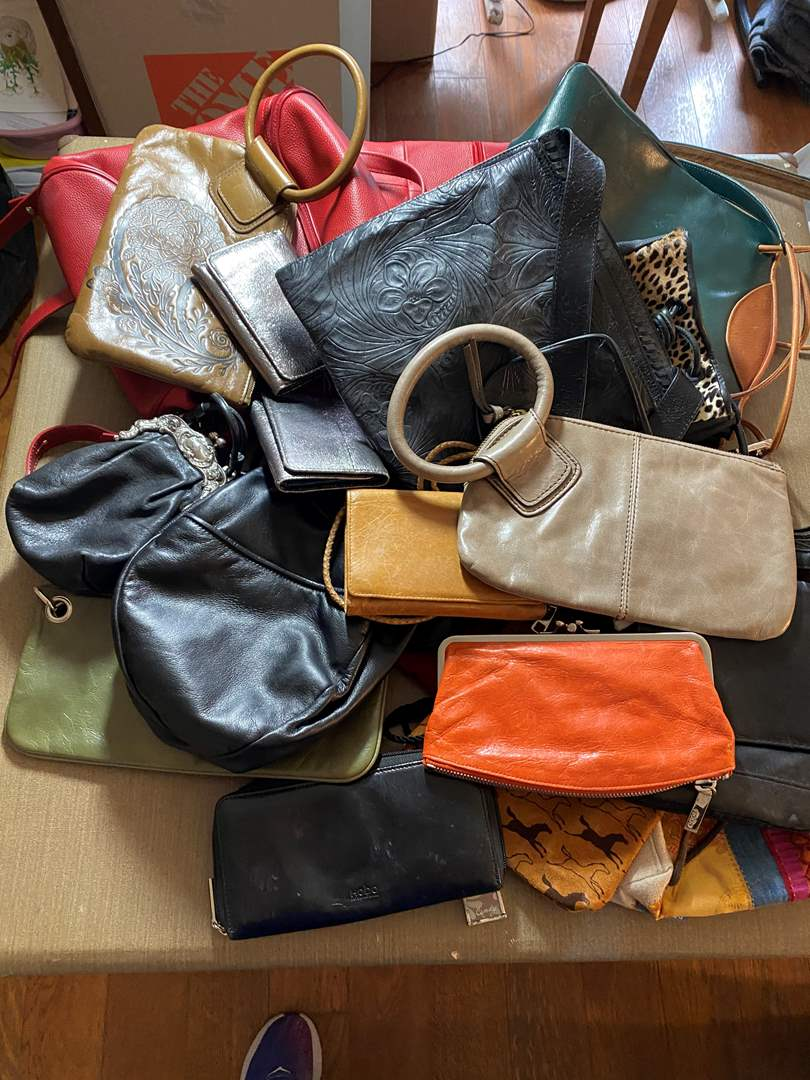 Lot # 458 - Purses - Including 9 Hobo Bags (main image)