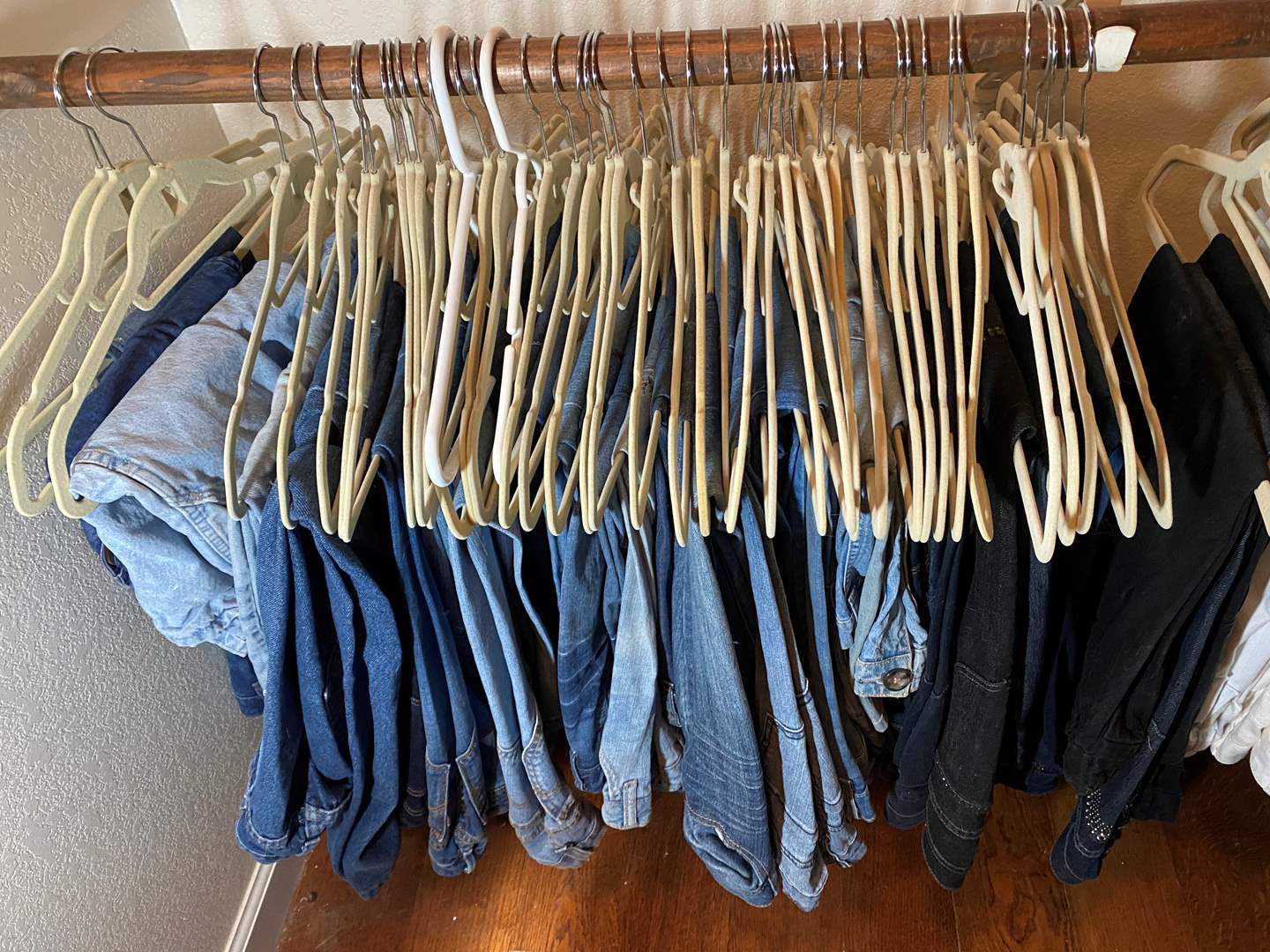 Lot # 461 - Extra Large Lot of Denim Pants - Various Brands & Sizes (main image)