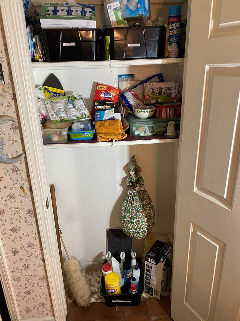 Lot # 467 - All Supplies in Closet (main image)