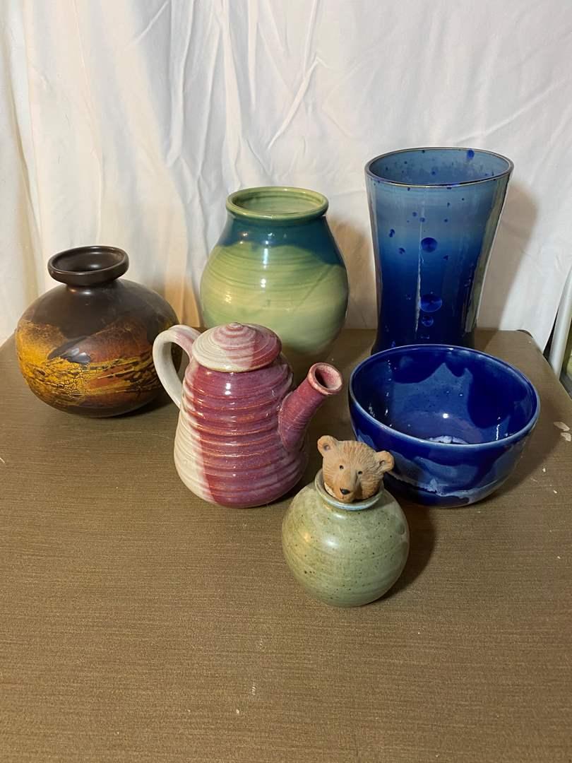 Lot # 470 - Custom Pottery Pieces (main image)