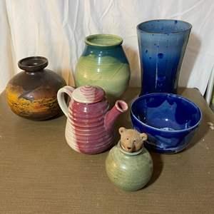 Lot # 470 - Custom Pottery Pieces