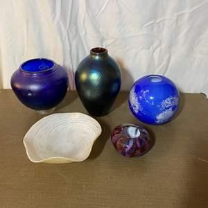 Lot # 471 - Harmony, CA Glass Pieces