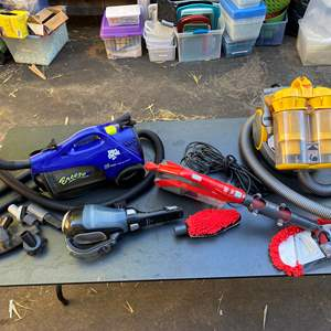 Lot # 556 - Dyson Telescope Vacuum Cleaner & others