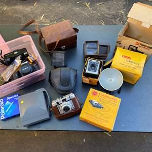 Lot # 493 - Vintage Cameras & Equipment