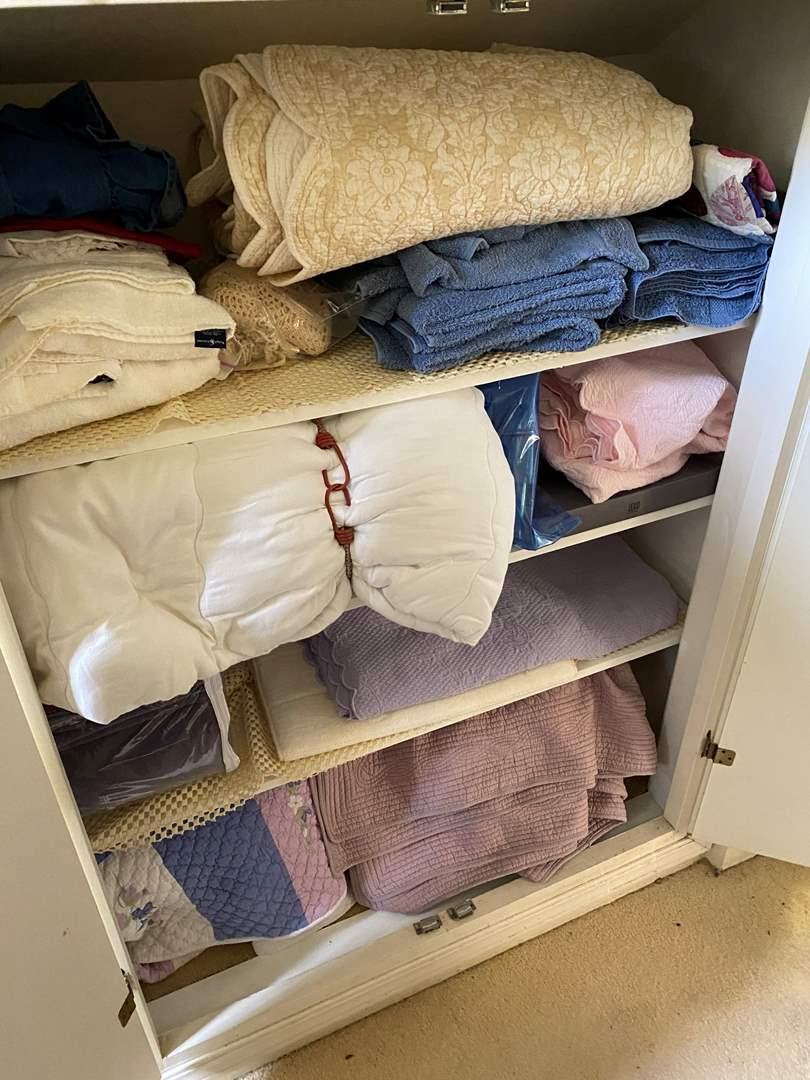 Lot # 622 - Linen Closet Goods (main image)