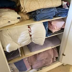 Lot # 622 - Linen Closet Goods